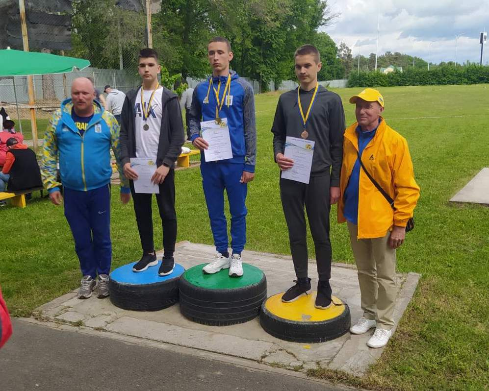 Шість нагород здобули легкоатлети Чернігівщини на Всеукраїнських змаганнях в Умані