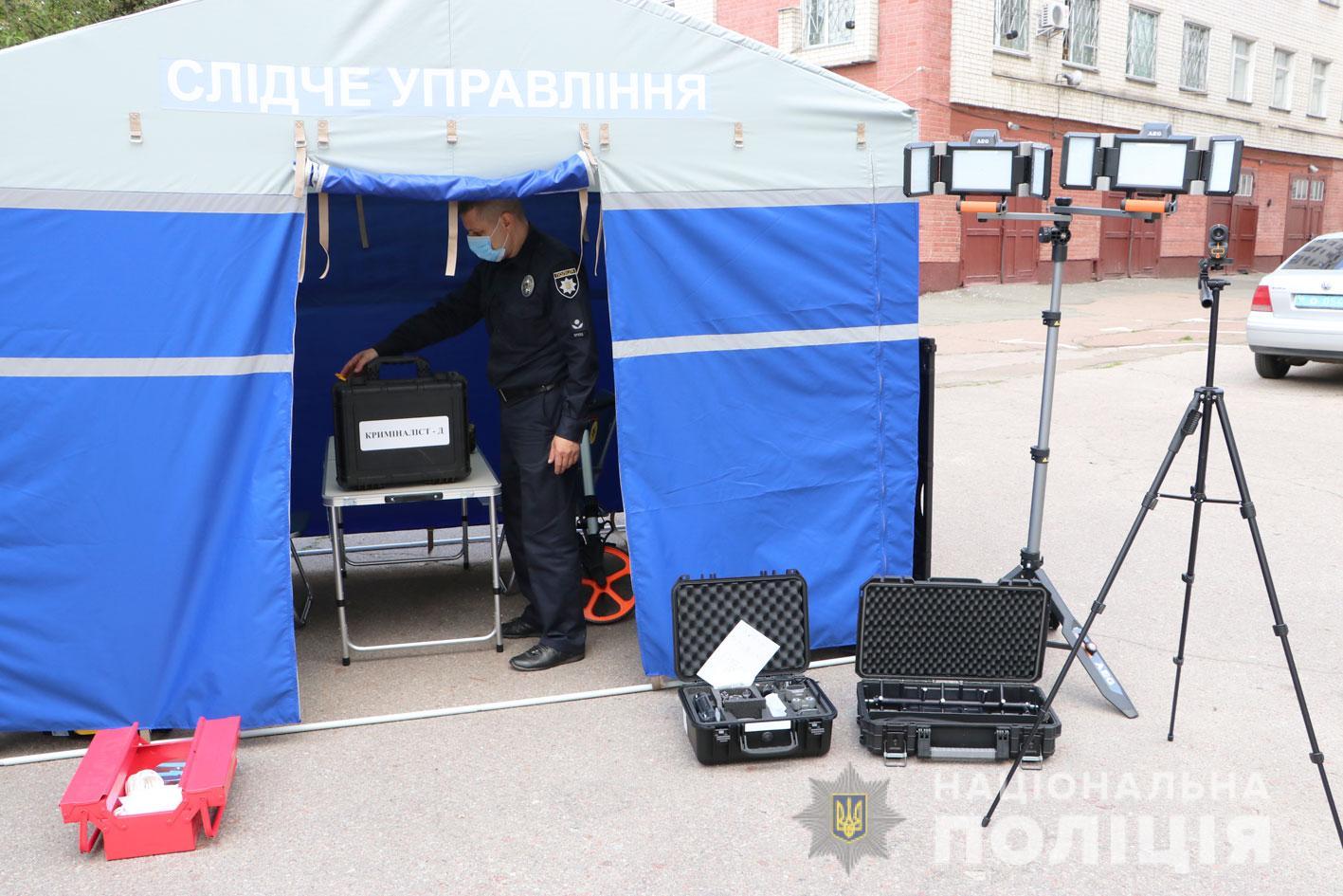 Поліція Чернігівщини отримала пересувну сучасну криміналістичну лабораторію (Фото)