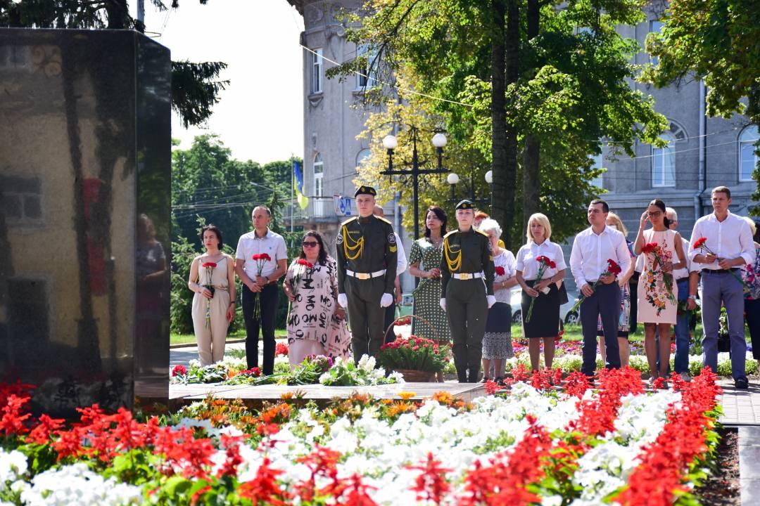 У Чернігові вшанували пам'ять жертв Другої світової війни (Фото)