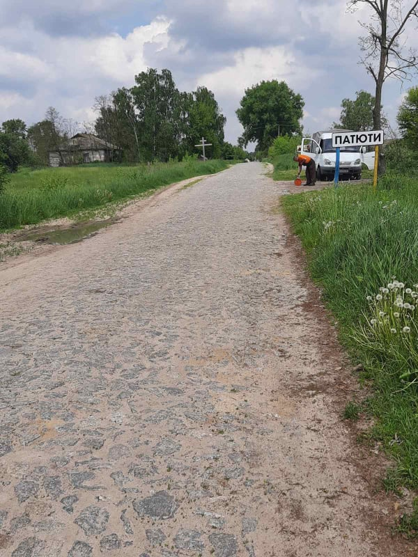 У Козелецькій громаді почали ремонтувати дорогу місцевого значення (Фото)