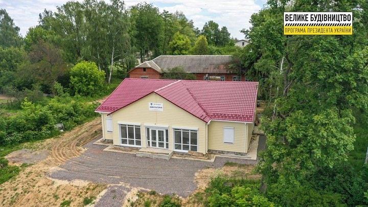 Завершується будівництво амбулаторії в Новобілоуській територіальній громаді (Фото)