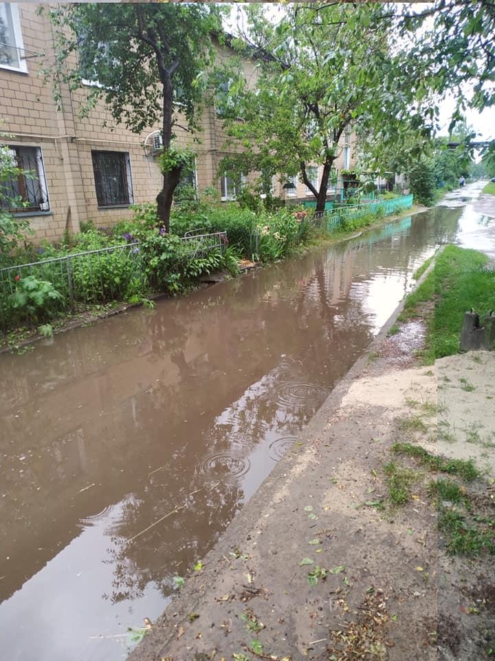 Чернігівський район Олександрівка у воді (Фото, відео)