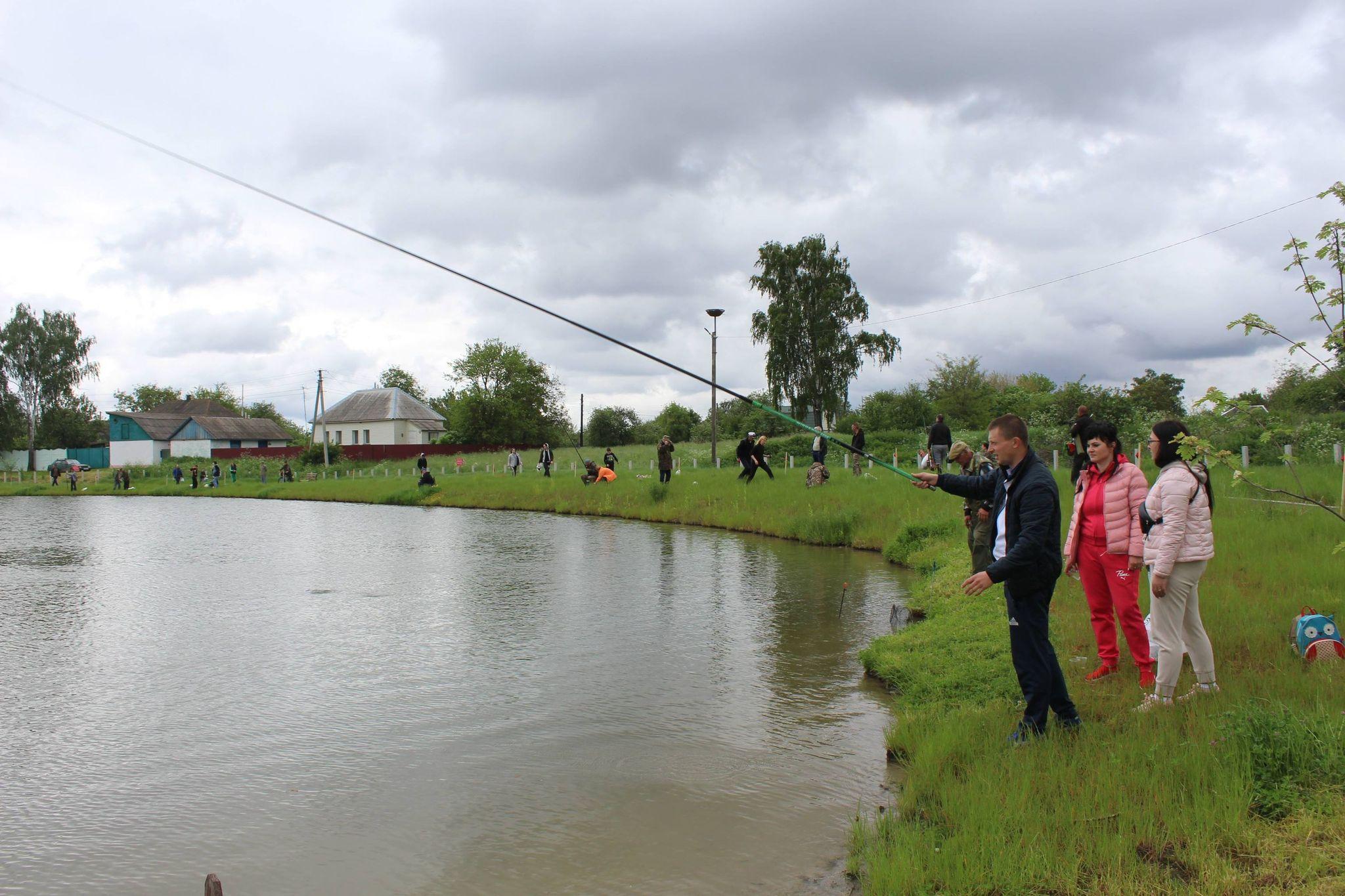 На Чернігівщині відбулися змагання з риболовлі (Фото)