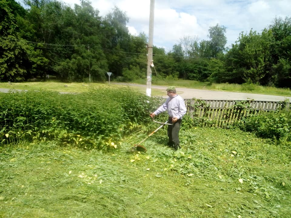 Селу на Ічнянщині надають привабливого вигляду (Фото)