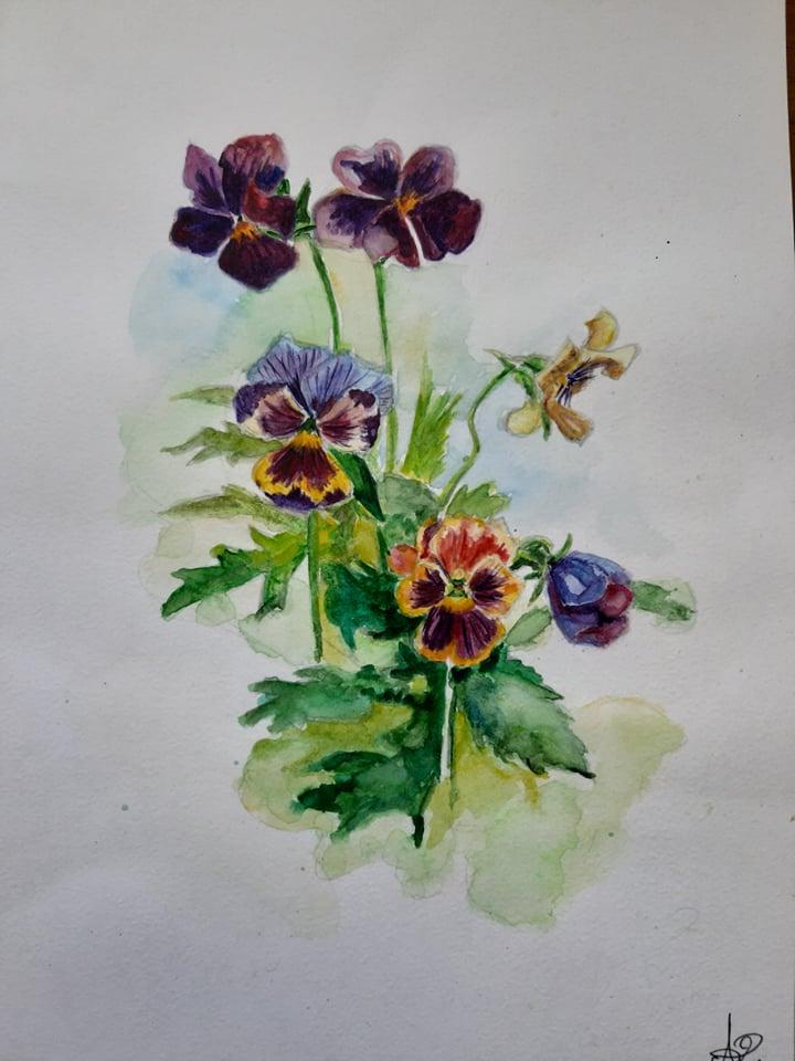 Заворожливі пейзажі, портрети та натюрморти: на Чернігівщині живе і творить 21-річна художниця