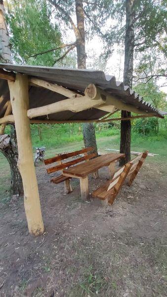 Ініціативна молодь облаштувала зону відпочинку в селі на Чернігівщині (Фотофакт)