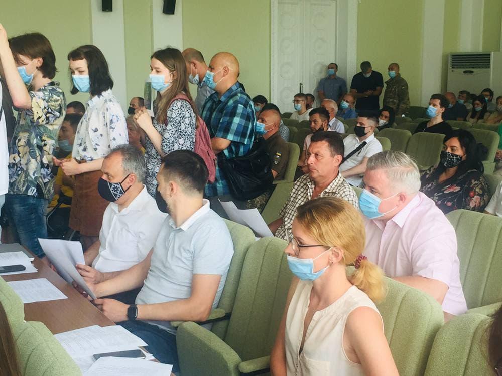 Конструктивне рішення Чернігівської міськради