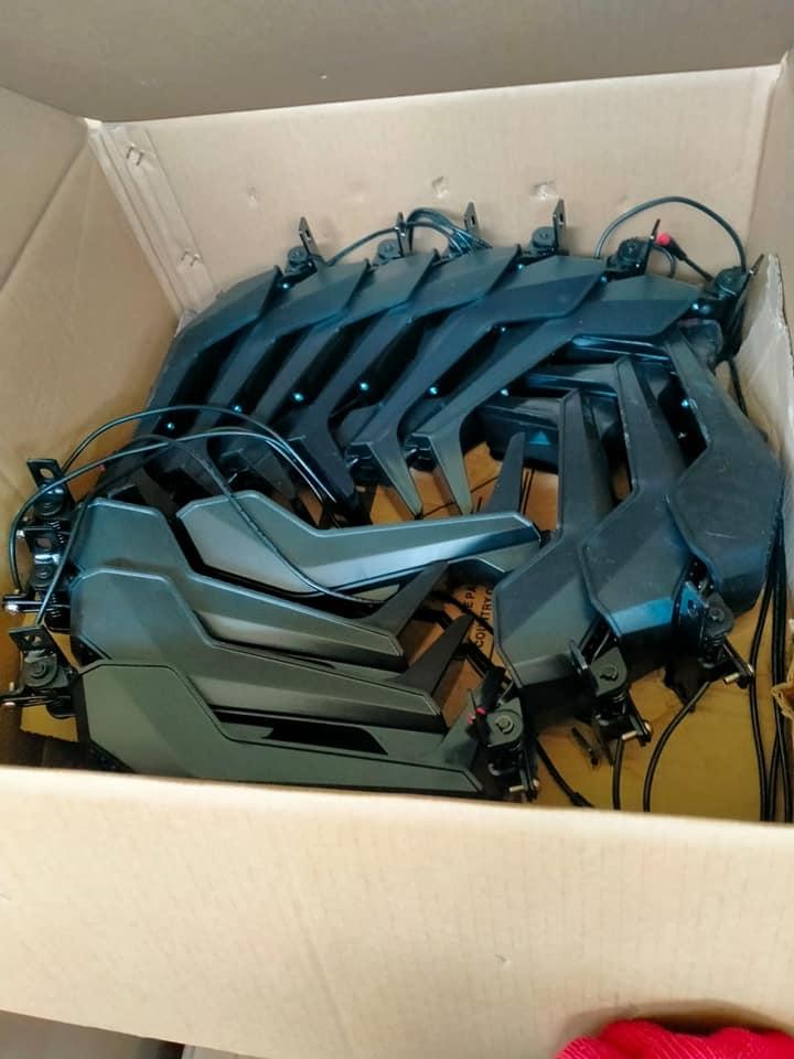 Прикордонники у «Нових Яриловичах» виявили незадекларовані електросамокати з Китаю (Фото)