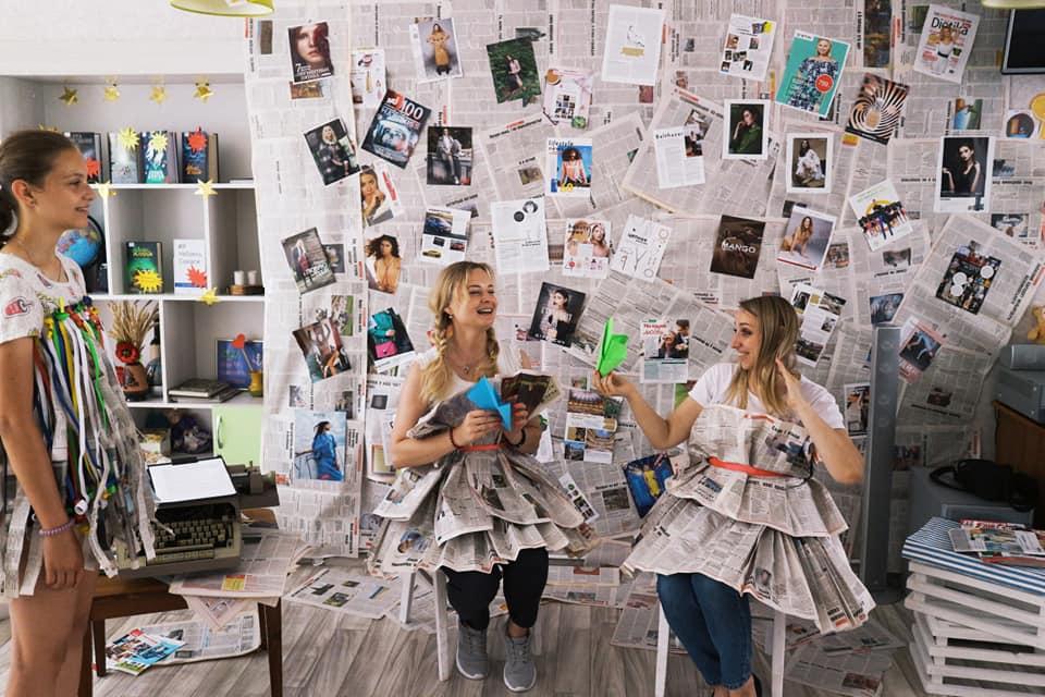 На Чернігівщині влаштували паперову вечірку (Фото)