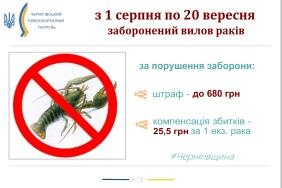 Заборона раки 2021