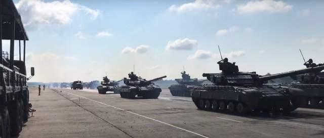 Під Черніговом провели репетицію військового параду до Дня Незалежності (Фото)