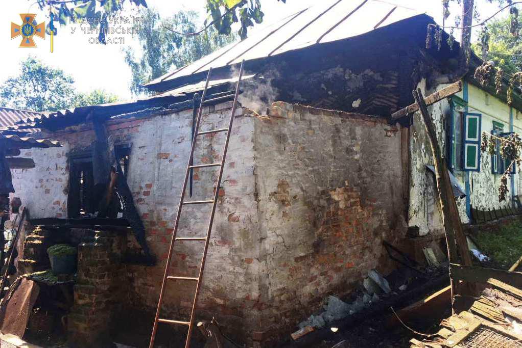 На Чернігівщині за минулу добу рятувальники ліквідували 5 пожеж (Фото)
