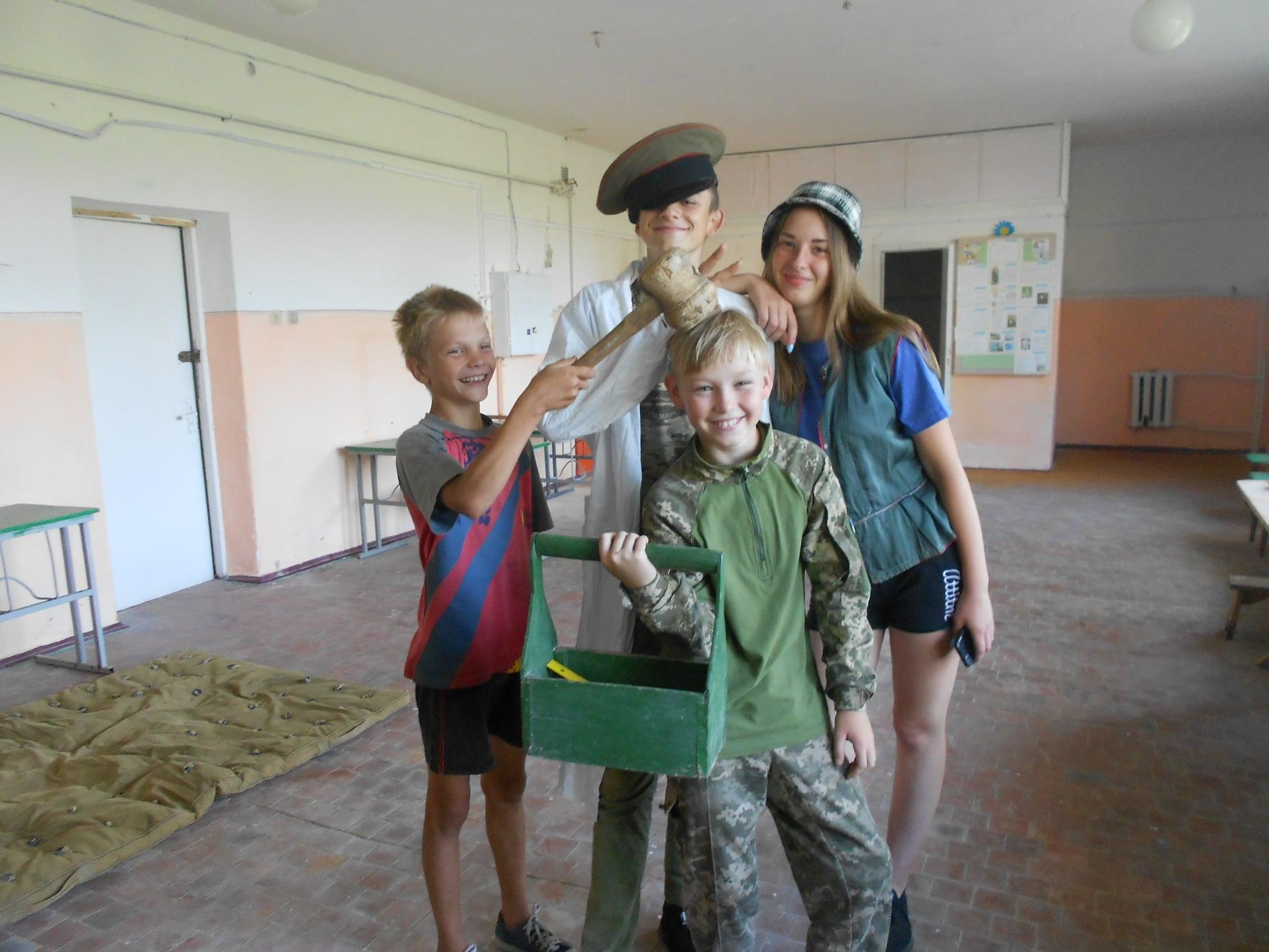 У селі на Чернігівщині знімали ролик «Про корову» (Фото)