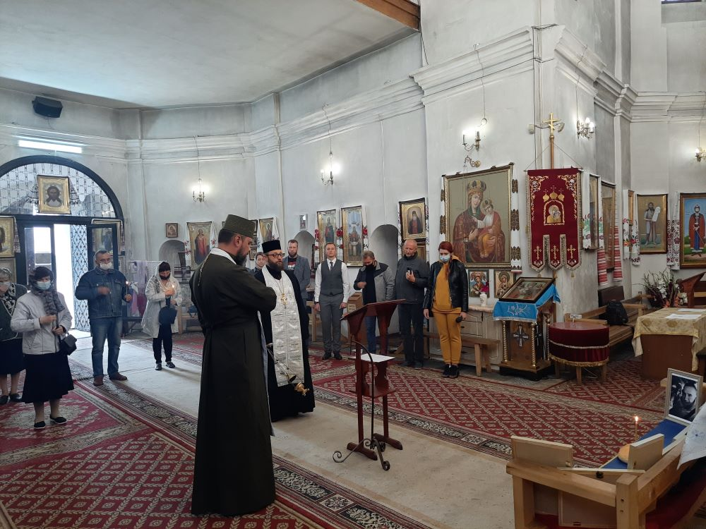 За дев'ятьох загиблих у серпні Захисників України помолилися в Чернігові (Фото)