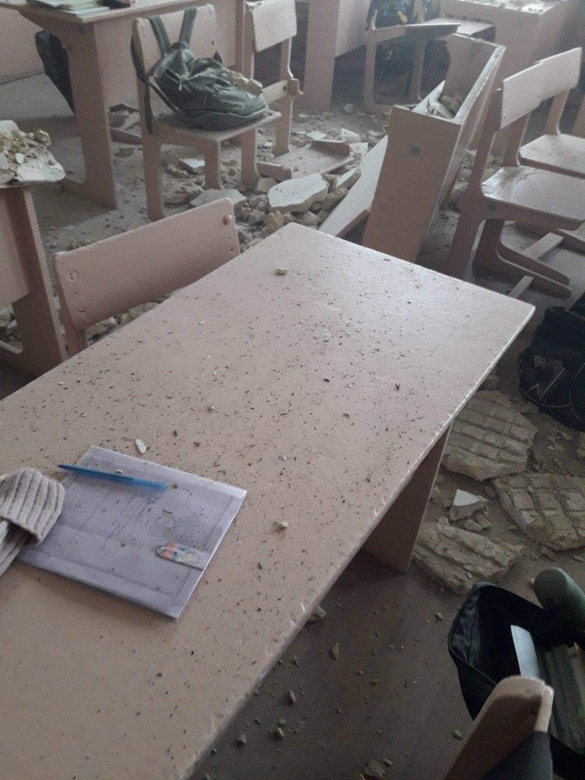 У школі на Чернігівщині обвалилася стеля (Фото)