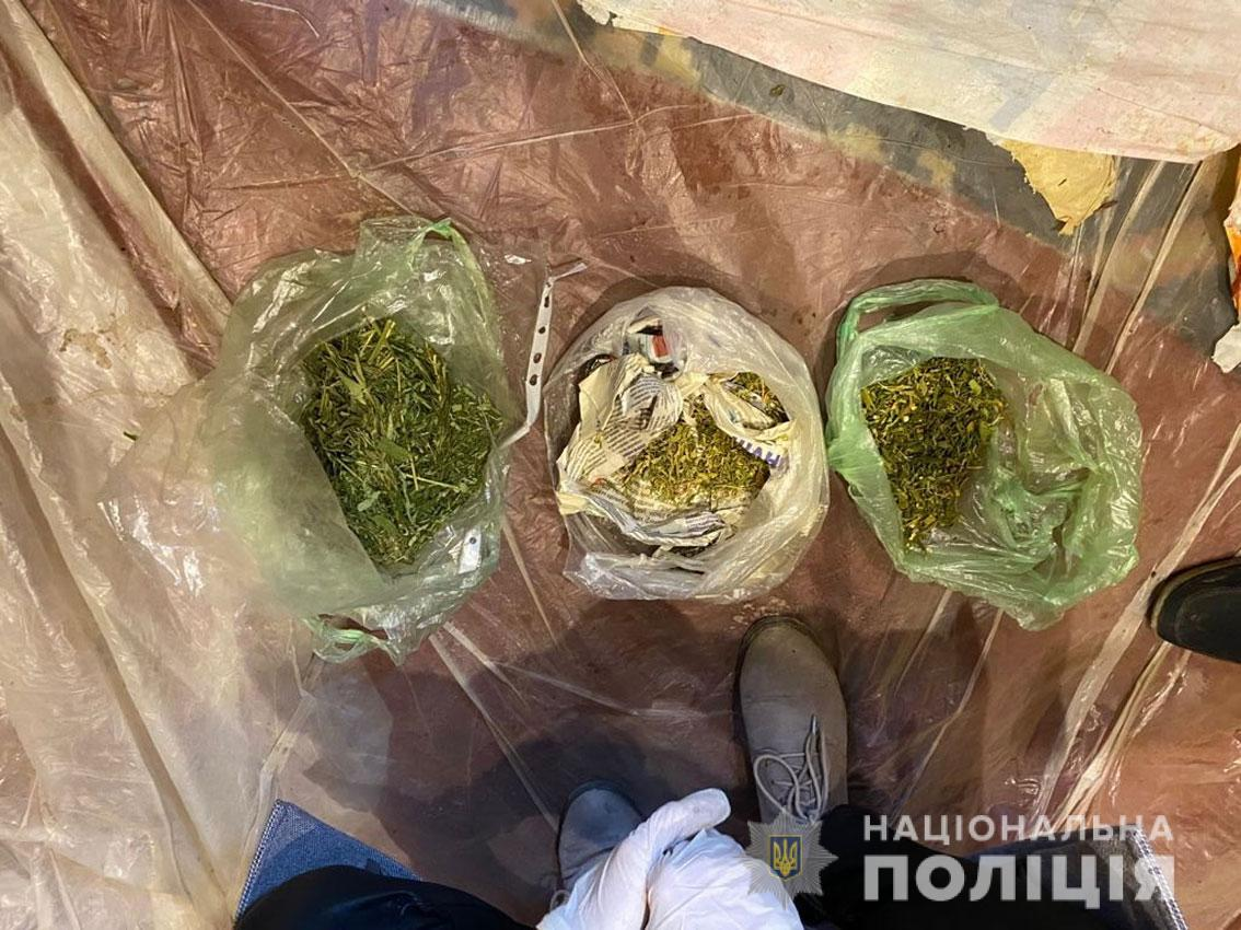 На Чернігівщині поліцейські вилучили наркотиків на понад мільйон гривень (Фото)